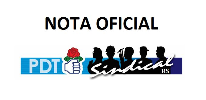 Nota Oficial Sindical