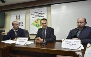 Bacci é reeleito presidente da Comissão de Defesa do Consumidor e Participação Legislativa Popular