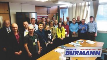 Burmann reassume a Frente Parlamentar em Defesa da Terceira Idade