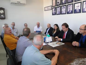 Presidente Marlon Santos cumpre agenda parlamentar em Cachoeira do Sul