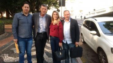 Sossella auxilia prefeito de Lagoão em demanda na Funasa