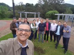 O pré candidato ao Governo Jairo Jorge visita os Coredes Celeiro e Delta do Jacuí