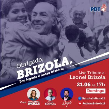 OBRIGADO, BRIZOLA!