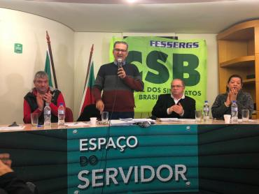 Jairo Jorge recebe apoio de sindicatos dos servidores públicos