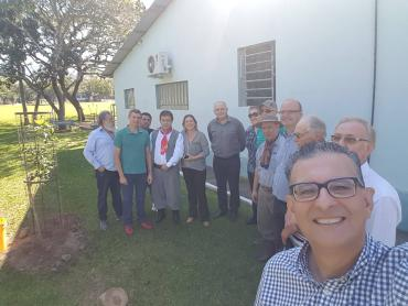 Jairo Jorge visita o Corede da Serra