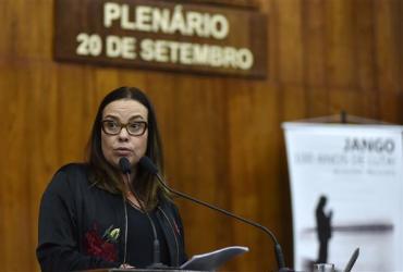 Juliana Brizola faz homenagem a Jango e destaca plebiscito que levou o trabalhista à presidência