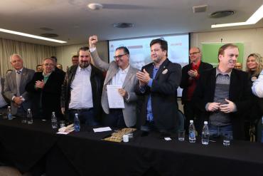Jairo Jorge lança a Frente Rio Grande Tem Solução com a participação de seis partidos na disputa do Palácio Piratini